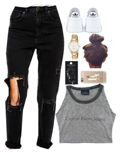 """""""28 August, 2015"""" by jamilah-rochon ❤ liked on Polyvore featuring adidas, ASOS, Casetify, Topshop and Kate Spade"""