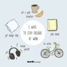 If you have problems with concentration at work, there are 5 easy ways to improve it! :)