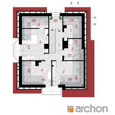 Dom w tymianku 6 House Layout Plans, House Layouts, House Plans, Plane, Floor Plans, House Design, How To Plan, Houses, Aircraft