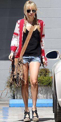 Nicole Richie - Winter Kate Bed Jacket