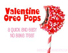 #Valentine Oreo Pops by Love From The Oven