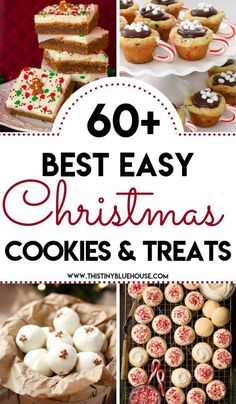 65 best delicious holiday cookie recipes - Delicious, easy and wonderful cookie recipes to serve during the holiday season. GIft them or eat them these delicious treats will be loved by all. christmas food and drink Best Christmas Cookies, Christmas Snacks, Christmas Cooking, Holiday Cookies, Holiday Treats, Christmas Parties, Christmas Time, Christmas Ideas, Best Christmas Recipes
