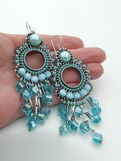Beaded Earrings - Beautiful!