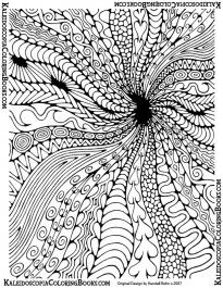 Free Coloring Page: Abstract Adventure IV