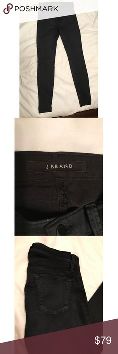 "J Brand super skinny black jeans size 26 J Brand: super skinny || black || Condition: New without tags || Size: 26 || Inseam: 30"" J Brand Jeans Skinny"