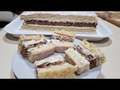 Prăjitura cu Gris Specială | Plăcintă cu Gris | Rețeta Deosebita | Rețeta Rară - YouTube Dessert Recipes, Desserts, Tiramisu, Cooking Recipes, Tasty, Ethnic Recipes, Youtube, Mad, Sweets