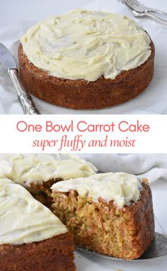 Easy Cake Recipes, Apple Recipes, Sweet Recipes, Baking Recipes, Dessert Recipes, Just Desserts, Delicious Desserts, Easy Carrot Cake, Carrot Cakes