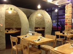 "Oto Oto  Japanese ""grotto"" restaurant  Lyon, France"