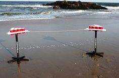 A beer pong table you can take literally anywhere.