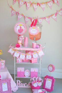 Sleeping Beauty Birthday Banner - Disney Princess Aurora Collection - Girls Birthday Party - Printables - Bridal Shower - INSTANT Download