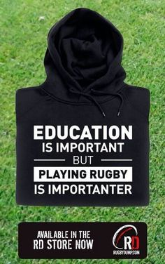 Rugby fan for life.