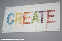 Image result for simple string art