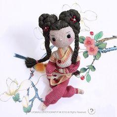 Irresistible Crochet a Doll Ideas. Radiant Crochet a Doll Ideas. Crochet Doll Pattern, Knit Or Crochet, Cute Crochet, Crochet Crafts, Crochet Projects, Crochet Patterns, Amigurumi Doll, Amigurumi Patterns, Doll Patterns