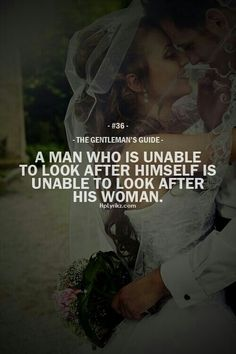 This is the difference between a BOY and a MAN. [TRK]