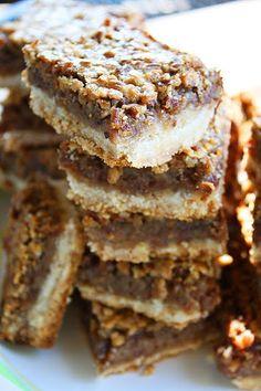 The Comfort of Cooking » Pecan Pie Bars