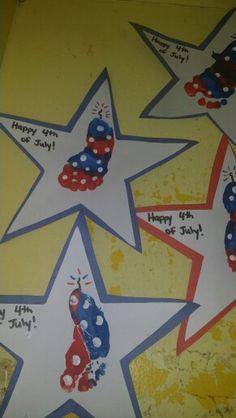 4th of july firework infant artwork