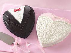 Bride & Groom cakes