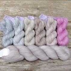 Eucalyptus and Fleur de Sel - Miss Babs Caroline Gradient Set