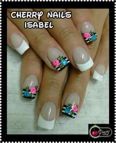 Cute Pedicure Designs, Toe Nail Designs, Cute Pedicures, Floral Nail Art, Nail Supply, French Nails, Manicure And Pedicure, Spring Nails, Toe Nails