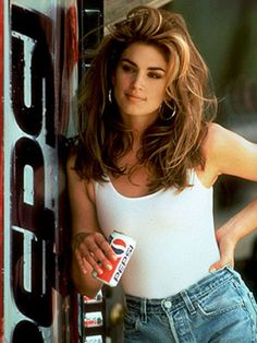 In a Pepsi commercial, 1991.