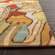 Colour Splash - hand tufted rug available from http://www.lundruggallery.co.za/