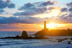 Pacific Sunset - Pigeon Point Lighthouse, California