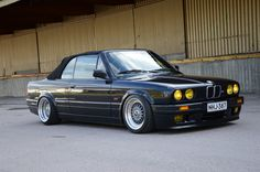 BMW 3-Series (E30) Convertible