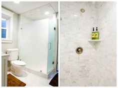 Marble slab floor and marble tile bath- too much?