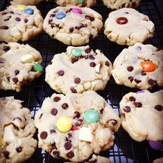 The best White Chocolate Chunk Smarties Dark Chocolate chip cookies  recipe courtesy of @sallysbakeblog #chocolate #TripleChocolate #baking #foodporn #foodphotography #cookies #omnomnom #sallysbakingaddiction #heavilyfiltered  God damnit they're just so good!!!!!