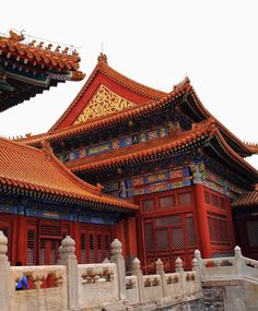 899. An Early Morning at the Forbidden City in Beijing, China