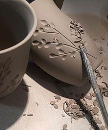 Dotti Potts Pottery Studio | IVORY COLLECTION