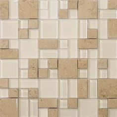Check out the deal on Emser Tile Lucente - Lido Stone & Glass Mosaic Pattern Blend at GBTile Collections