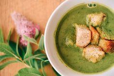 cuketová polievka Tzatziki, Hummus, Pesto, Ale, Healthy Recipes, Healthy Food, Good Food, Vegetables, Cooking