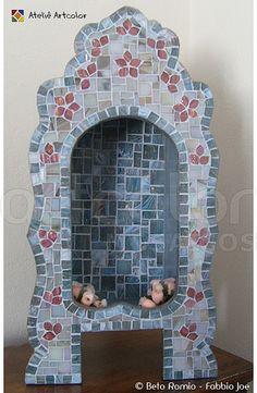 Oratório em mosaico by Artcolor mosaicos - Beto Romio & Fabbio Joe, via Flickr