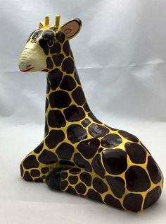 Mexican Vintage Giraffe-Giraffe-Gift Idea-Mother's by Pastfinds