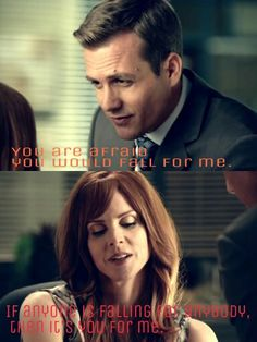 Harvey and Donna. <3