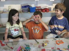 Kids Clay Room at Park West Ceramics - love the idea that they have drop in play with clay!  Perfect for an adventure day with the kids!  Check the calendar before going.  Also, Ernie's friend taking the Tuesday 4-5 class and can do one, 5 or 10 classes