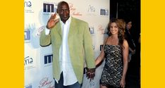 June 29 2017: Michael Jordan and his 35-year-old wife Yvette were out on their family yacht. The couple has been together for almost a decade and have two children together. The basketball legend was previously married to Juanita Vanoy from September 1989 until 2006. They have two sons Jeffrey Michael and Marcus James and a daughter Jasmine. Michael proposed to his longtime girlfriend Cuban-American model Yvette Prieto on Christmas 2011 and they were married on April 27 2013 at…