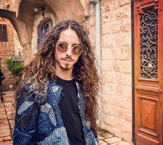 Michal Big Love, Blond, Round Sunglasses, Long Hair Styles, Jackets, Tops, Women, Fashion, Creativity