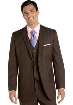 Nice. Suits - Wilke Rodriguez Brown Tic Vested Suit - Men's Wearhouse