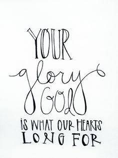 littlethingsaboutgod: Let us live for Your glory...