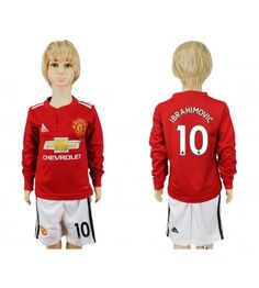 Manchester United Blank Home Long Sleeves Kid Soccer Club Jersey Paul Pogba, Kids Soccer, Manchester United, Chevrolet, Youth, Graphic Sweatshirt, The Unit, Sweatshirts, Sweaters