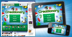 LEGO - Creationary app. It's free and great for reinforcement. I use it with artic therapy.