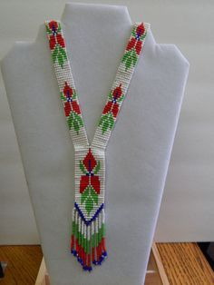 Handcrafted Loom Beadwork Necklace