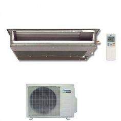 Daikin FDXS50C Professional Inverter Deckeneinbaugeräte-Set 5,3 kW  Im Nachtflüstermodus wird der Betriebsgeräuschpegel des Außengeräts während der Nacht automatisch um 3 dBA vermindert (nur Multi-Außengeräte im Kühlbetrieb)