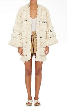 We Adore: The Leticia Hand-Loomed Cotton Coat from Ulla Johnson at Barneys New York