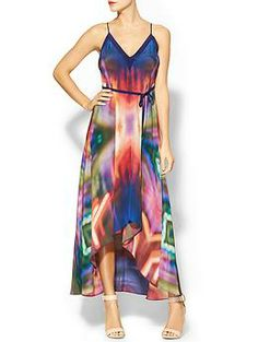 Twelfth Street By Cynthia Vincent High Low Silk Dress | Piperlime