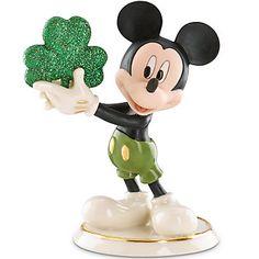 LENOX Figurines: Disney - Disney's Erin Go Bragh Mickey Figurine