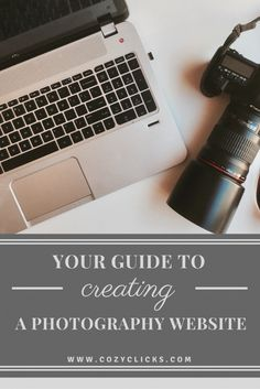 Simple Step by Step guide to Creating a Photography Website. Find out how here!