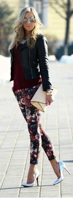 Khloe- Trend Spotting: Floral Pants 28